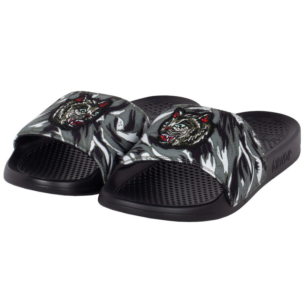 Nerm Tiger Camo Slides (Green Camo)