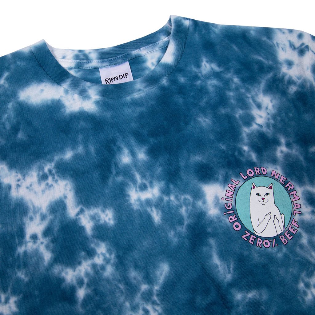 Prime Cut Tee (Blue / Pink Lightning Wash)