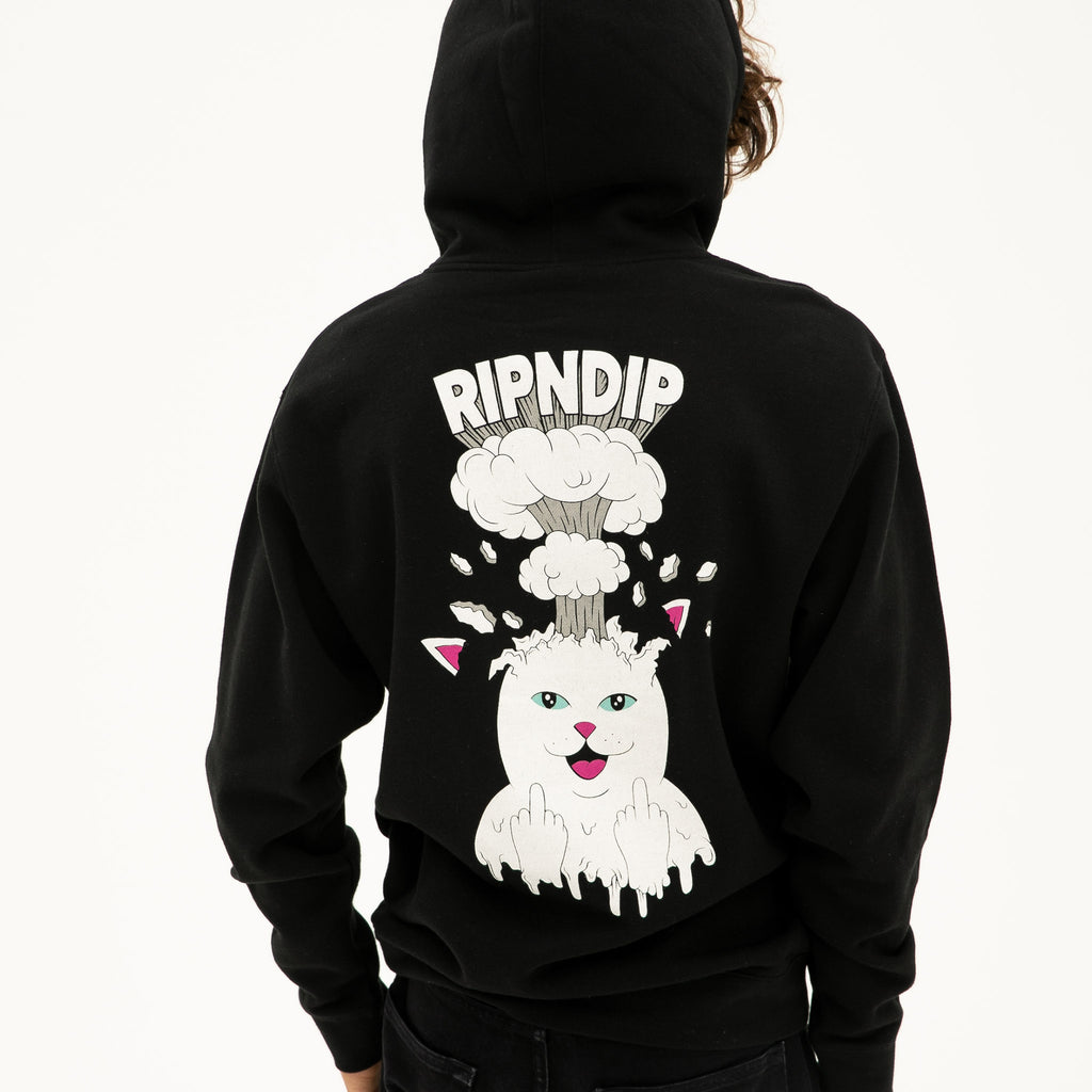 Mind Blown Hoodie (Black)