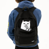 Lord Nermal Velcro Hands Backpack (Black)