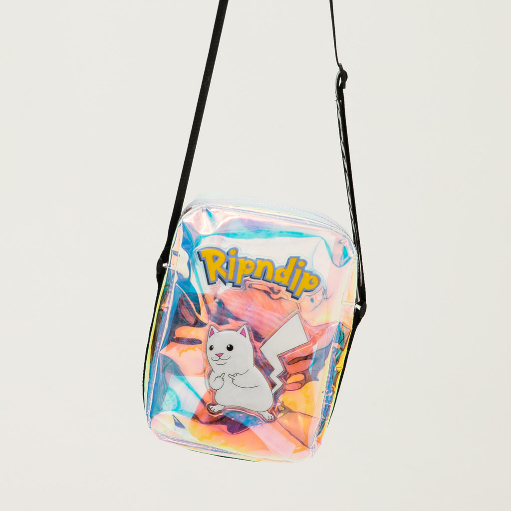 Catch Em All Shoulder Bag (Black Iridescent)