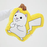 Catch Em All Pillow (Yellow)