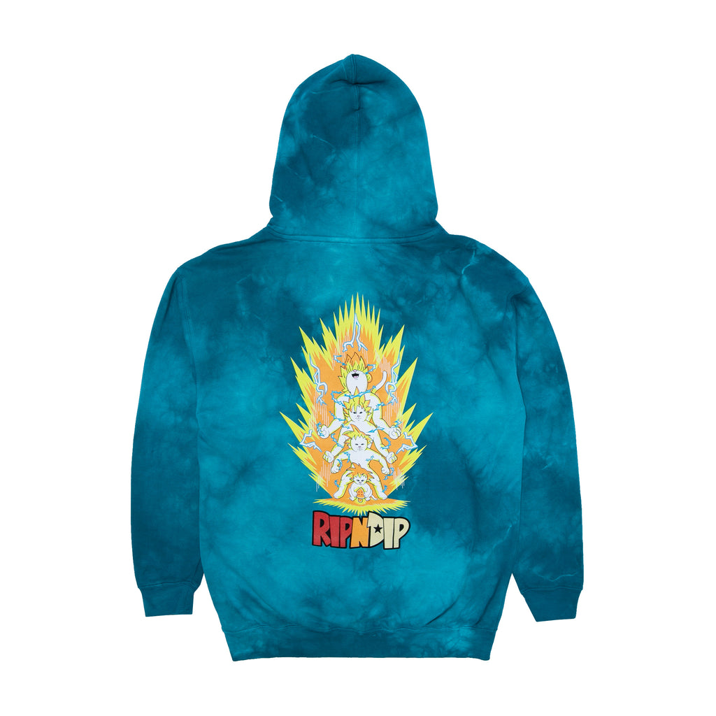 Super Sainerm Hoodie (Blue Acid Wash)