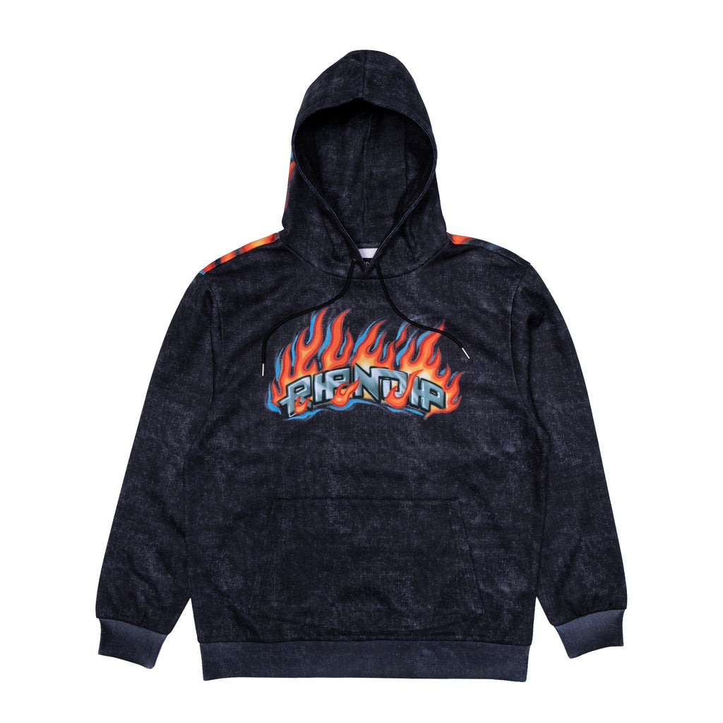 Hell Ride Hoodie (Black Mineral Wash)