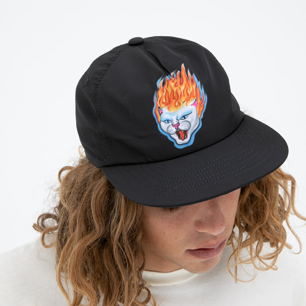 Hell Ride 6 Panel (Black)