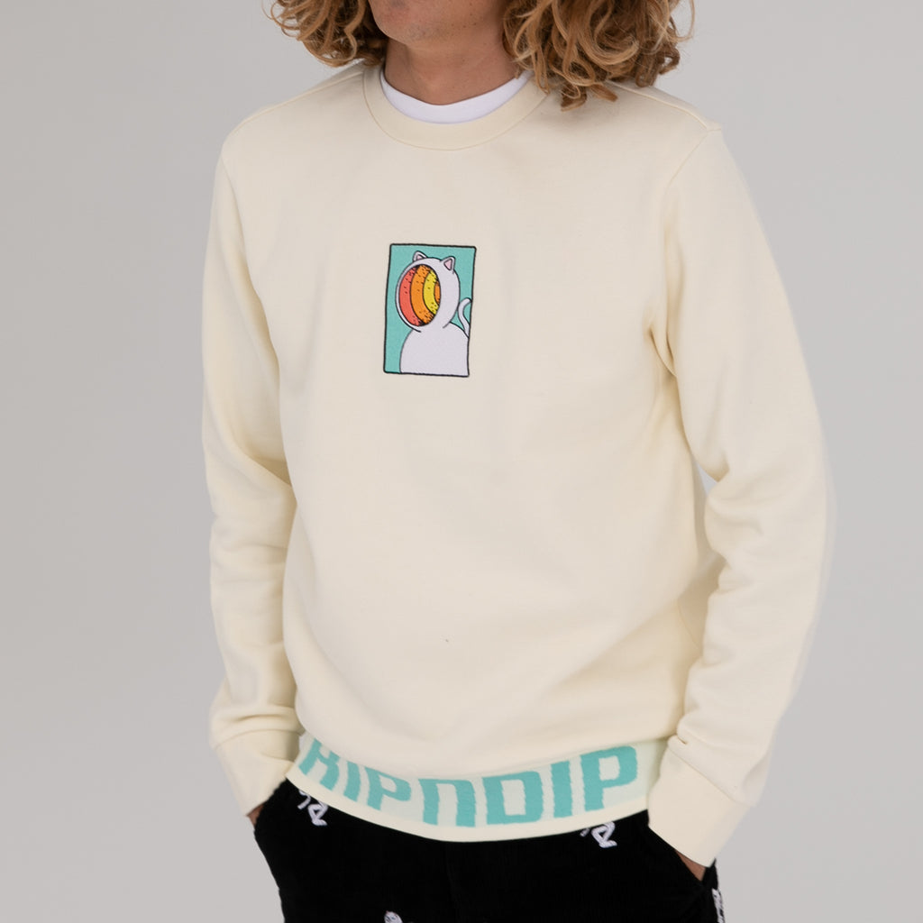 Open Mind Crewneck Sweater (Natural)
