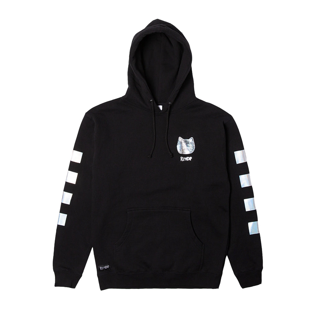 Illusion Reflective Hoodie (Black)