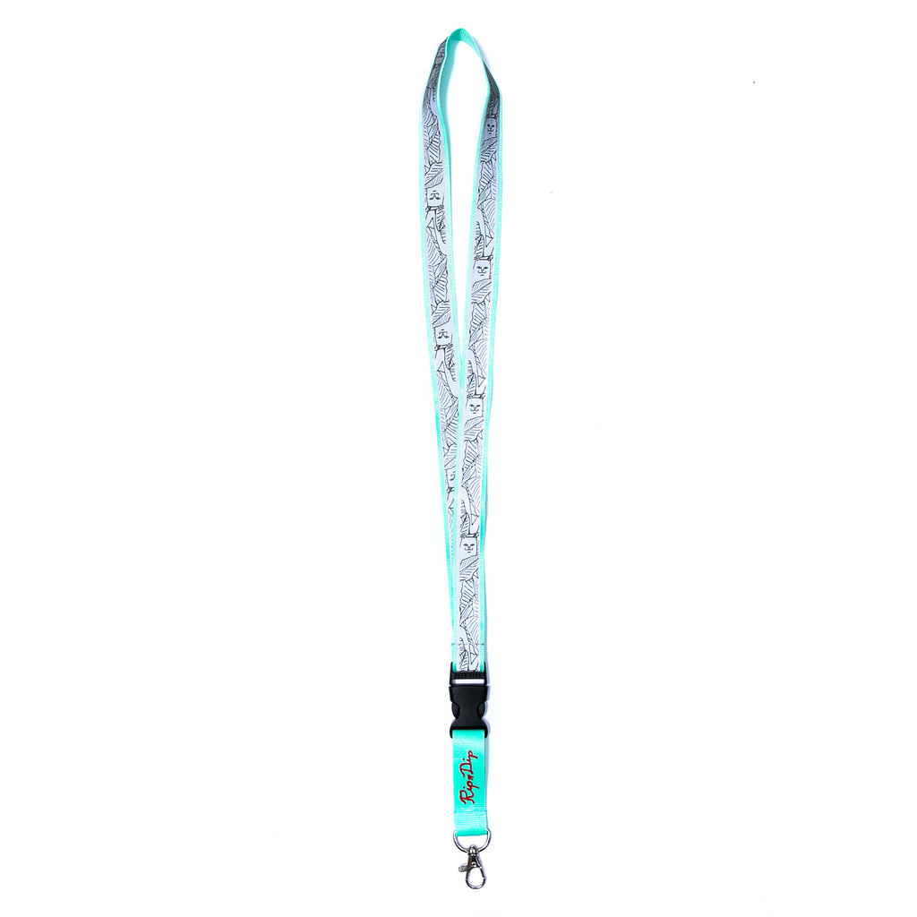 Nermal Leaf Refective Lanyard (3M)