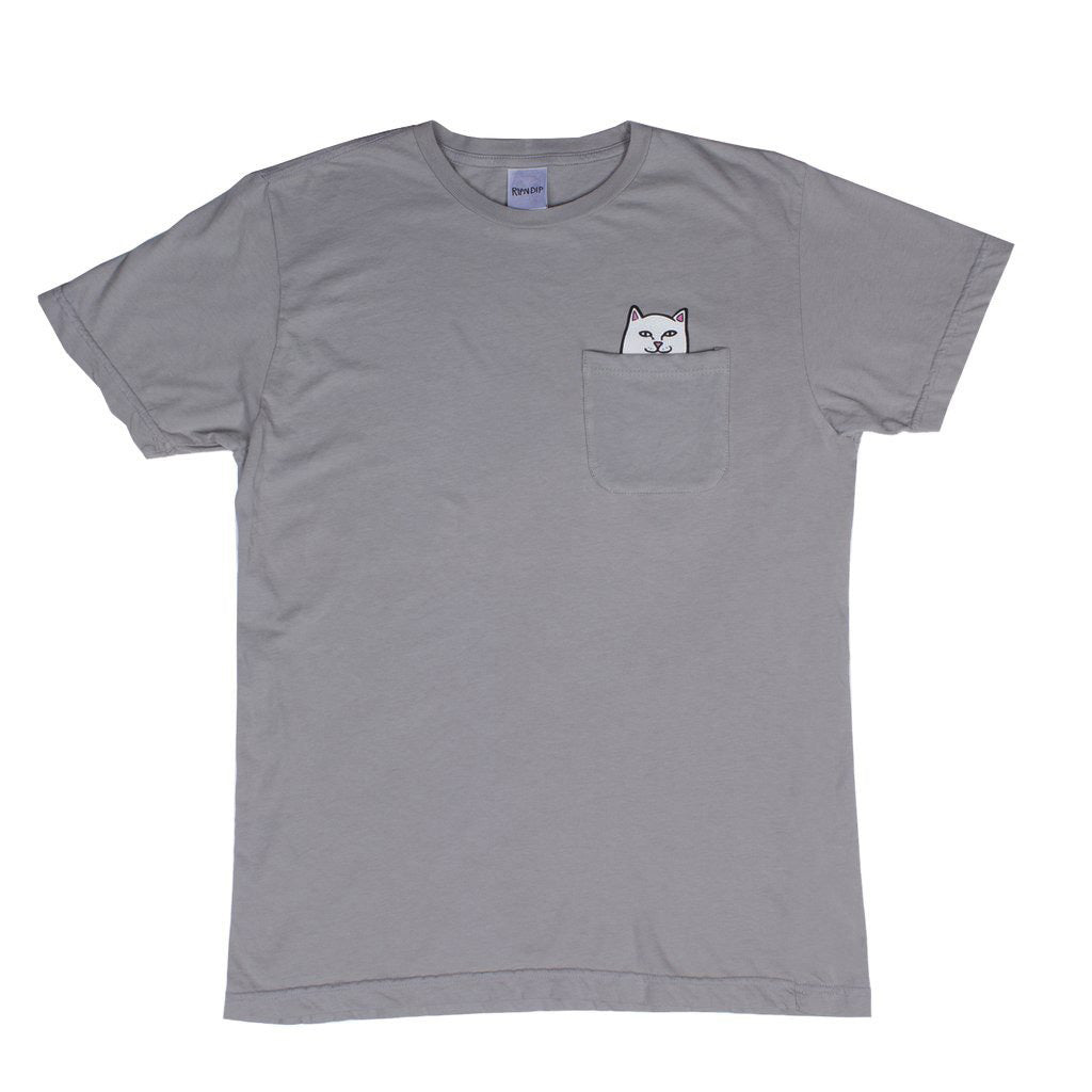Lord Nermal Pocket Tee (Light Grey)