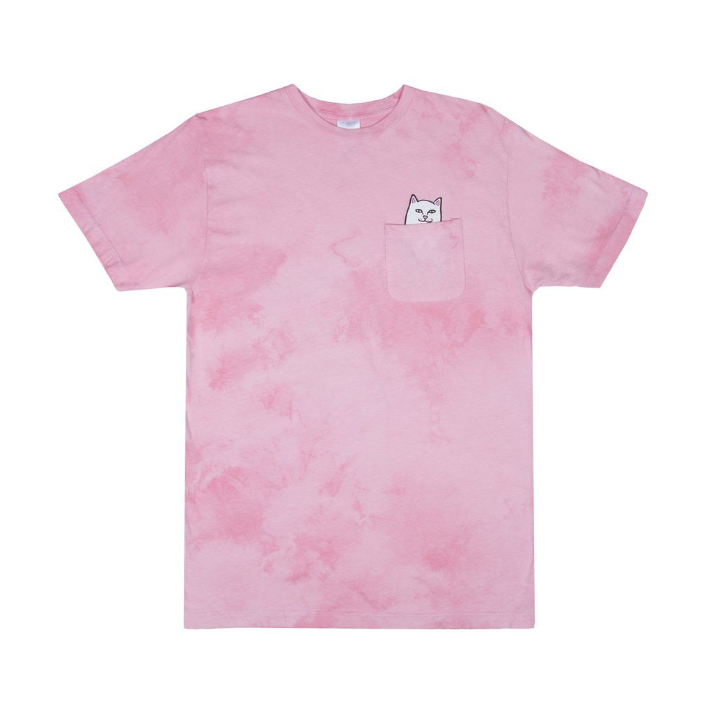 Lord Nermal Pocket Tee (Pink Lightning Wash)