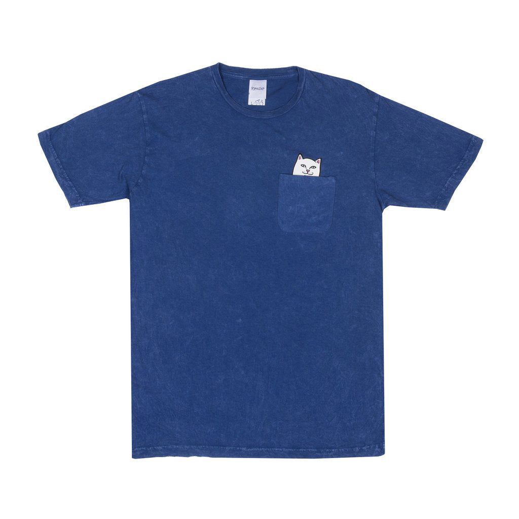 Lord Nermal Pocket Tee Blue Mineral Wash
