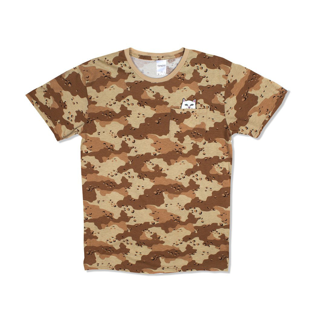 Lord Nermal Pocket Tee (Desert Storm)