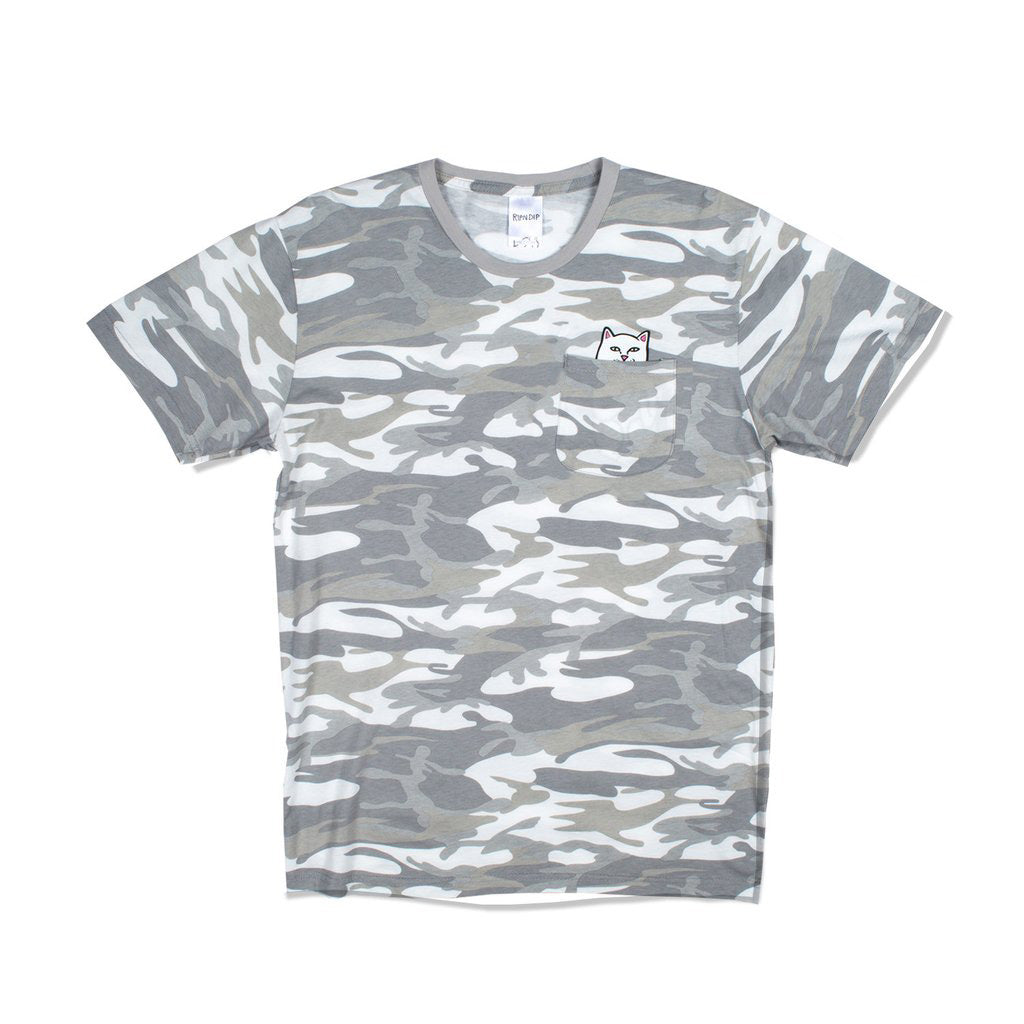 Lord Nermal Pocket Tee (Grey Camo)