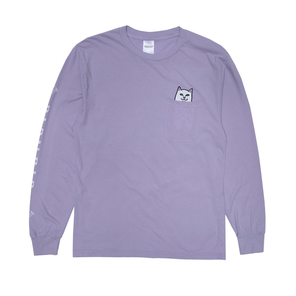 Lord Nermal L/S Pocket Tee (Lavender)