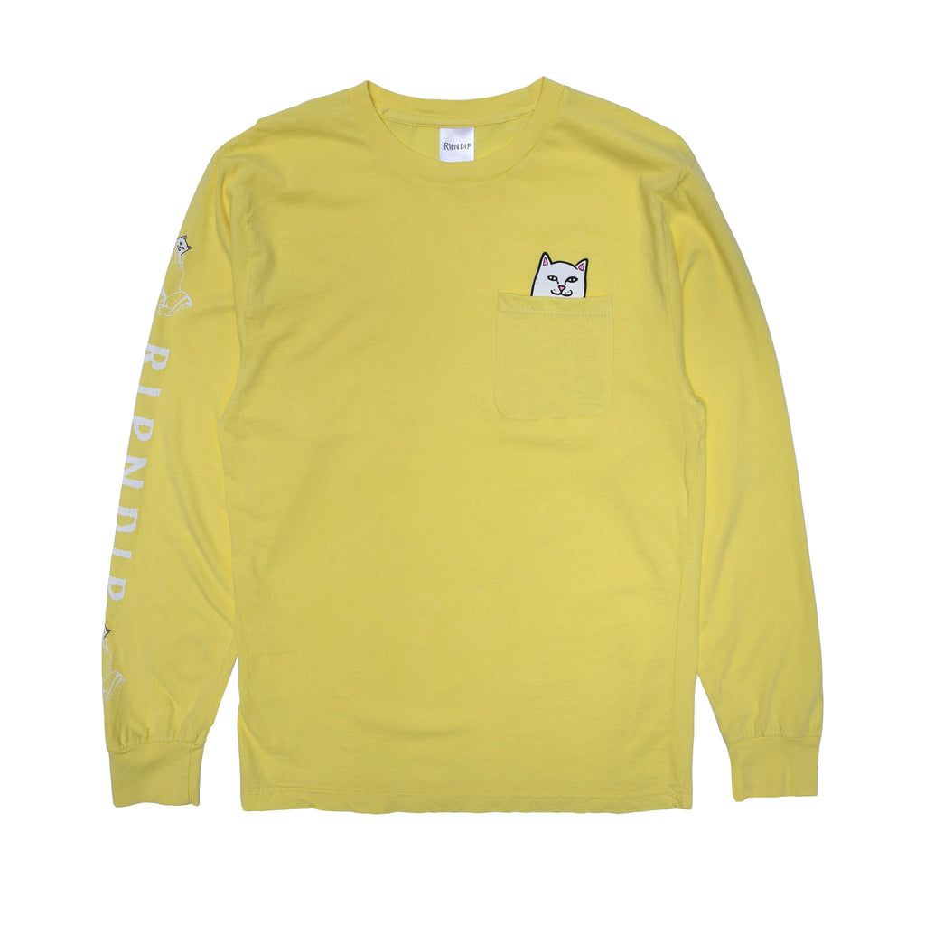 Lord Nermal L/S Pocket Tee (Banana)