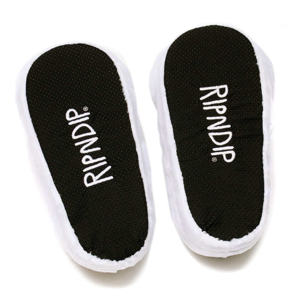 Lord Nermal Slippers (White)