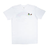 Floating Pocket Tee (White)