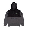 Nermal Leaf 2 Panel Hoodie (Black/Grey)