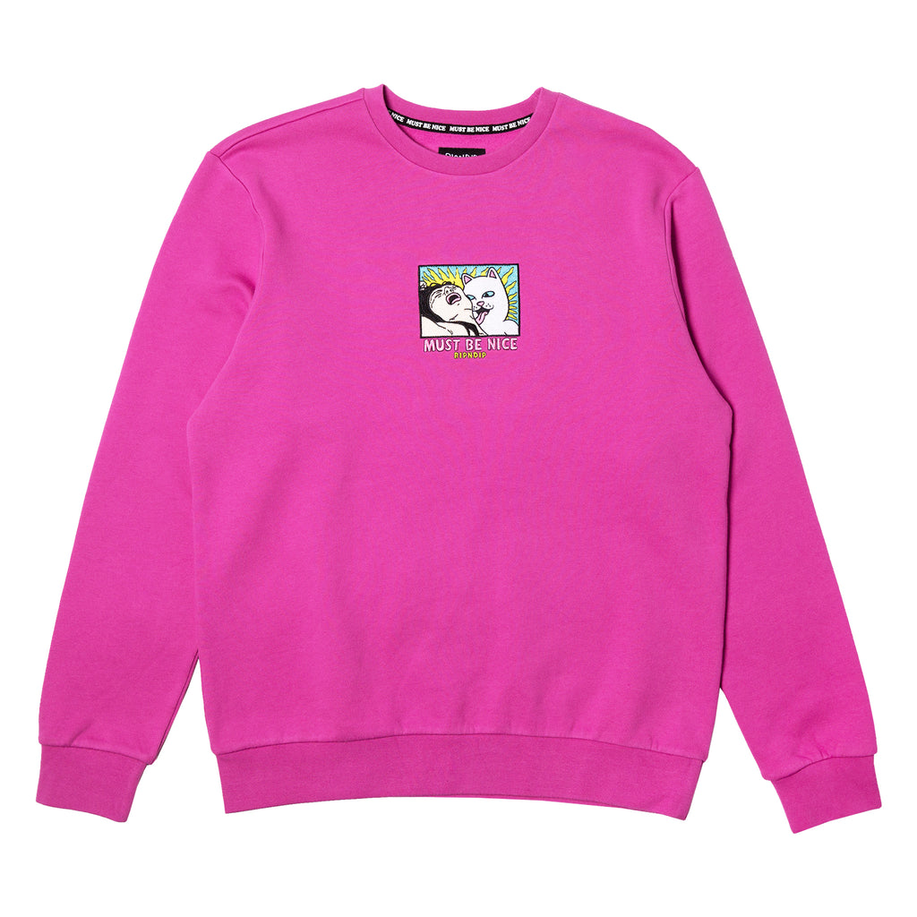 Lady Friend Crewneck (Fuchsia)
