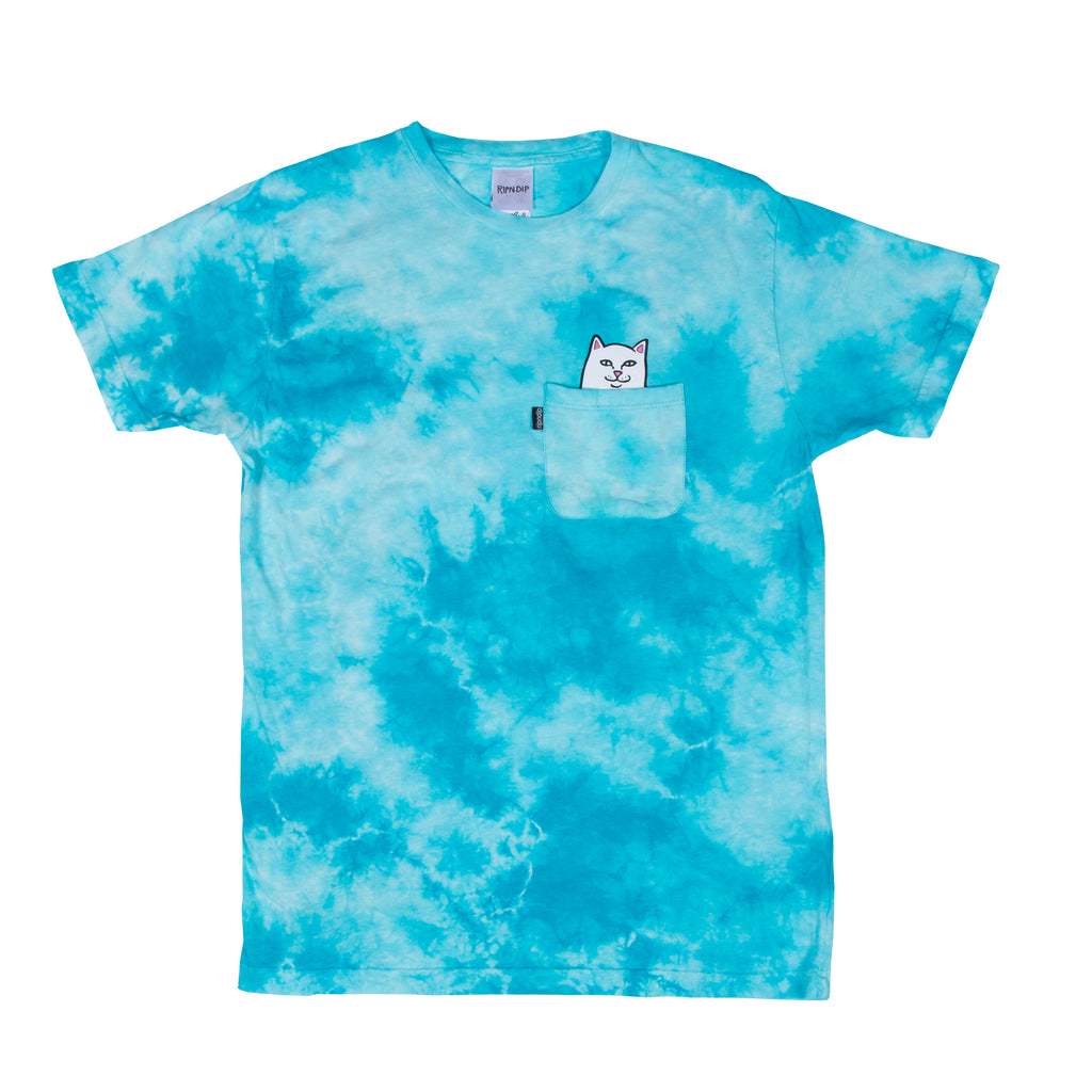 Lord Nermal Pocket Tee (Lightning Wash Turquoise)