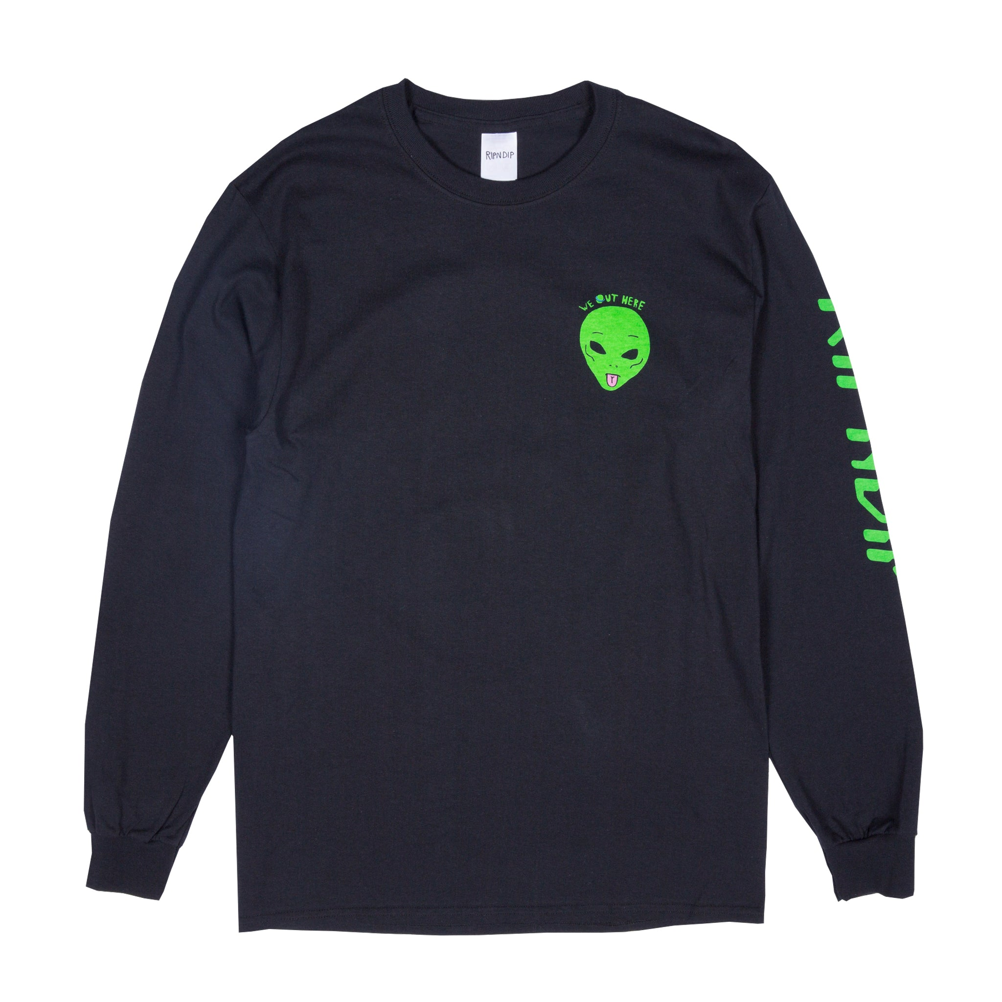 We Out Here L/S Tee (Black)