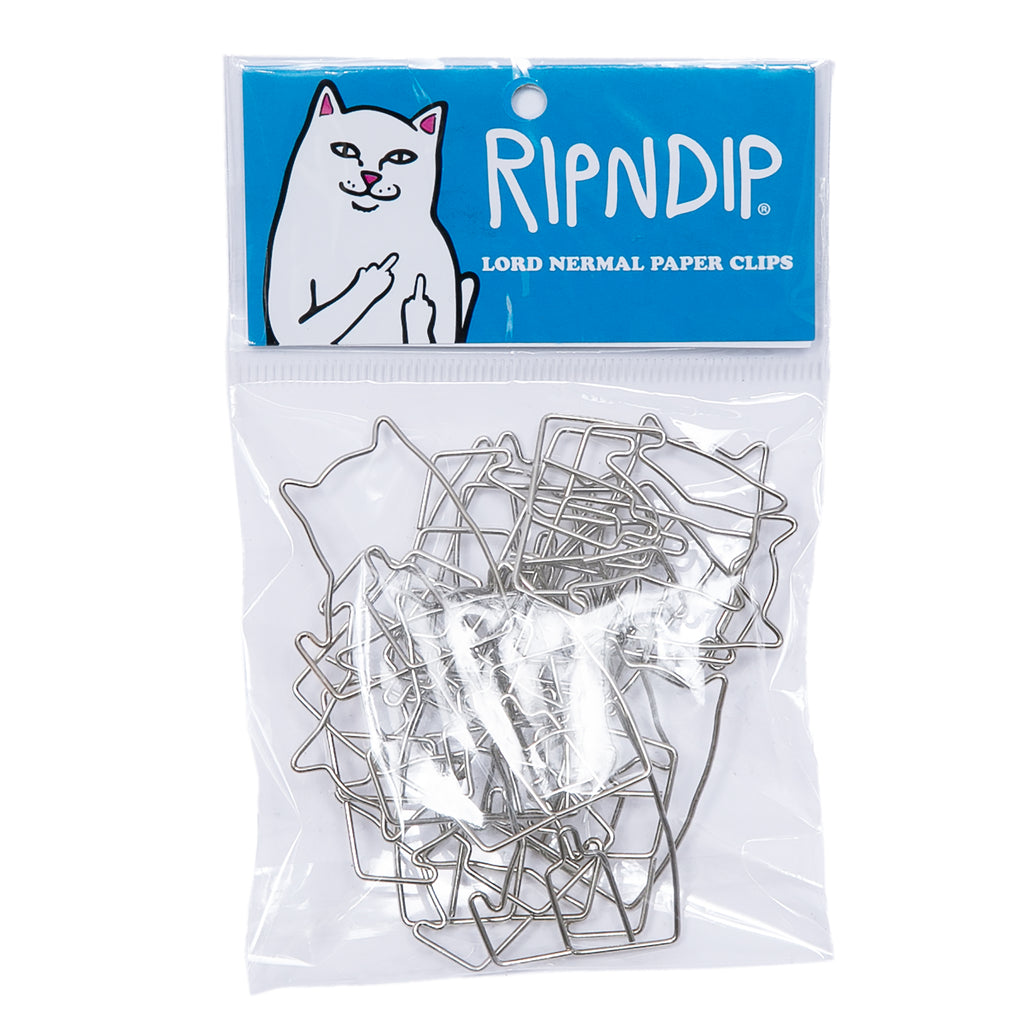 Lord Nermal Paper Clip Pack (Silver)