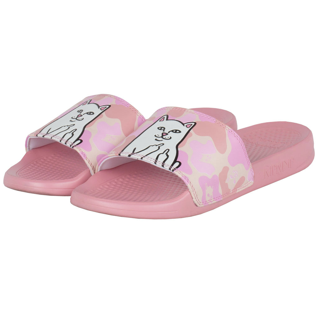 Lord Nermal Slides (Pink Camo)