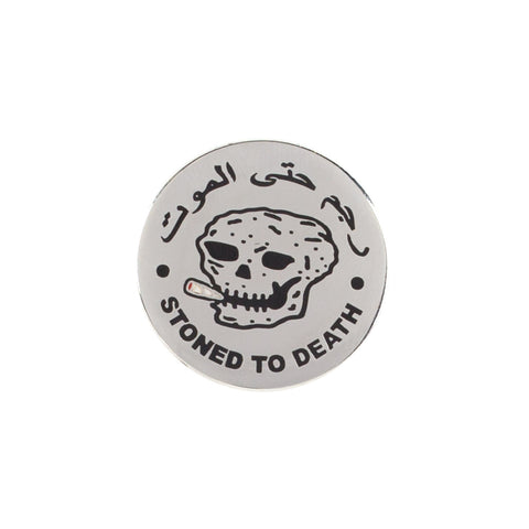 Stoned To Death Pin