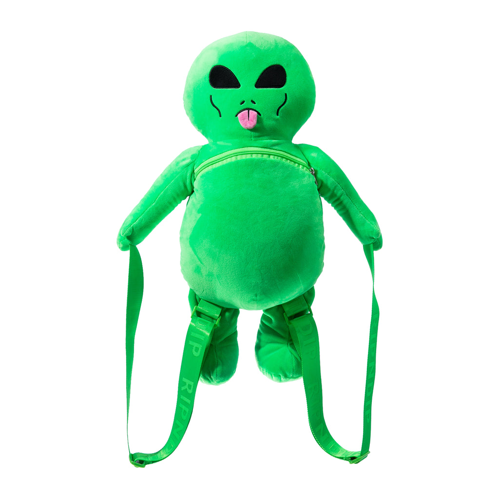 Lord Alien Plush Backpack (Green)