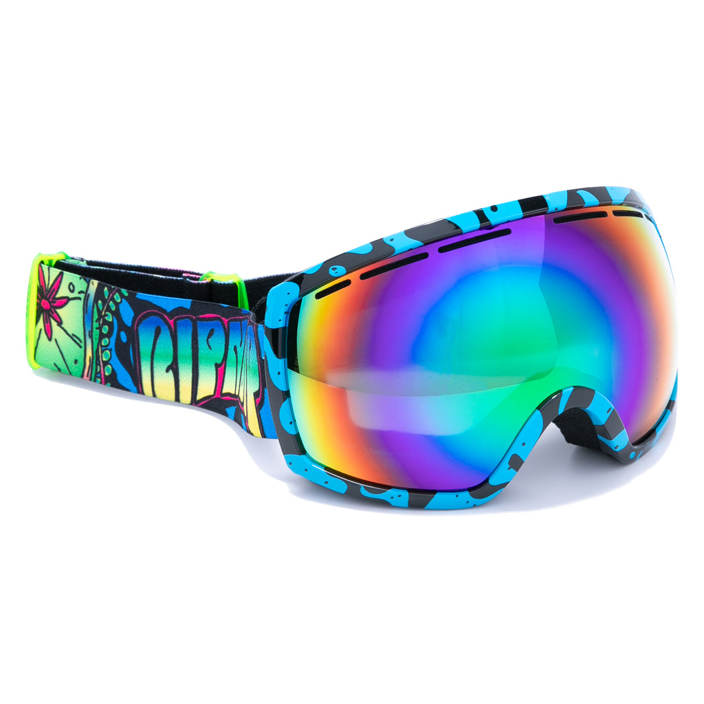Psychedelic Goggles (Black/Blue)