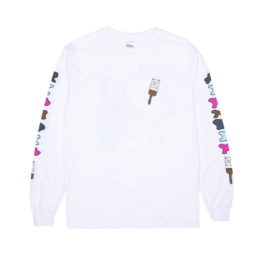 Beautiful Mountain L/S (White)