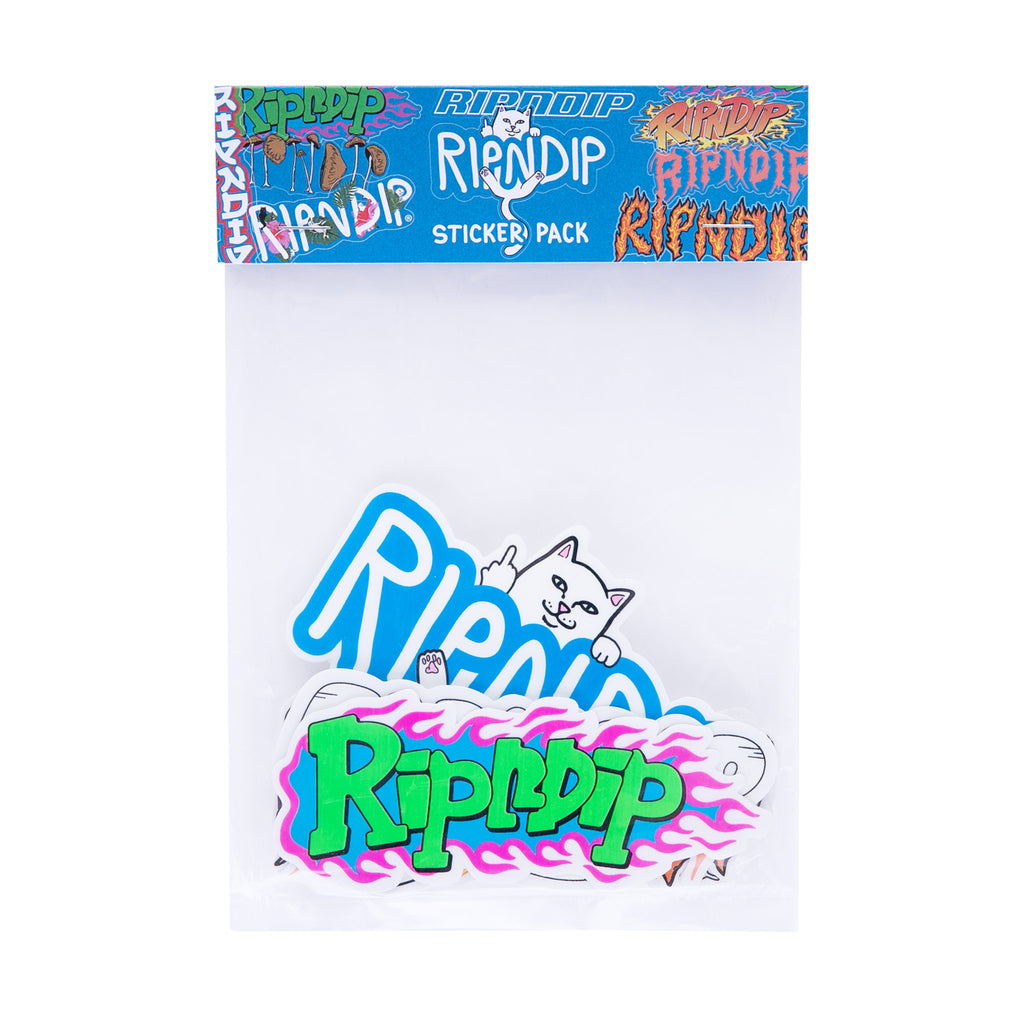 RIPNDIP Logo Sticker Pack (Multi)