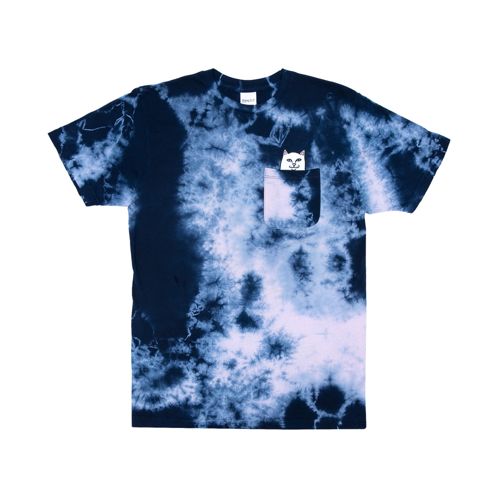 Lord Nermal S/S Pocket Tee (Navy/Pink Tie Dye)
