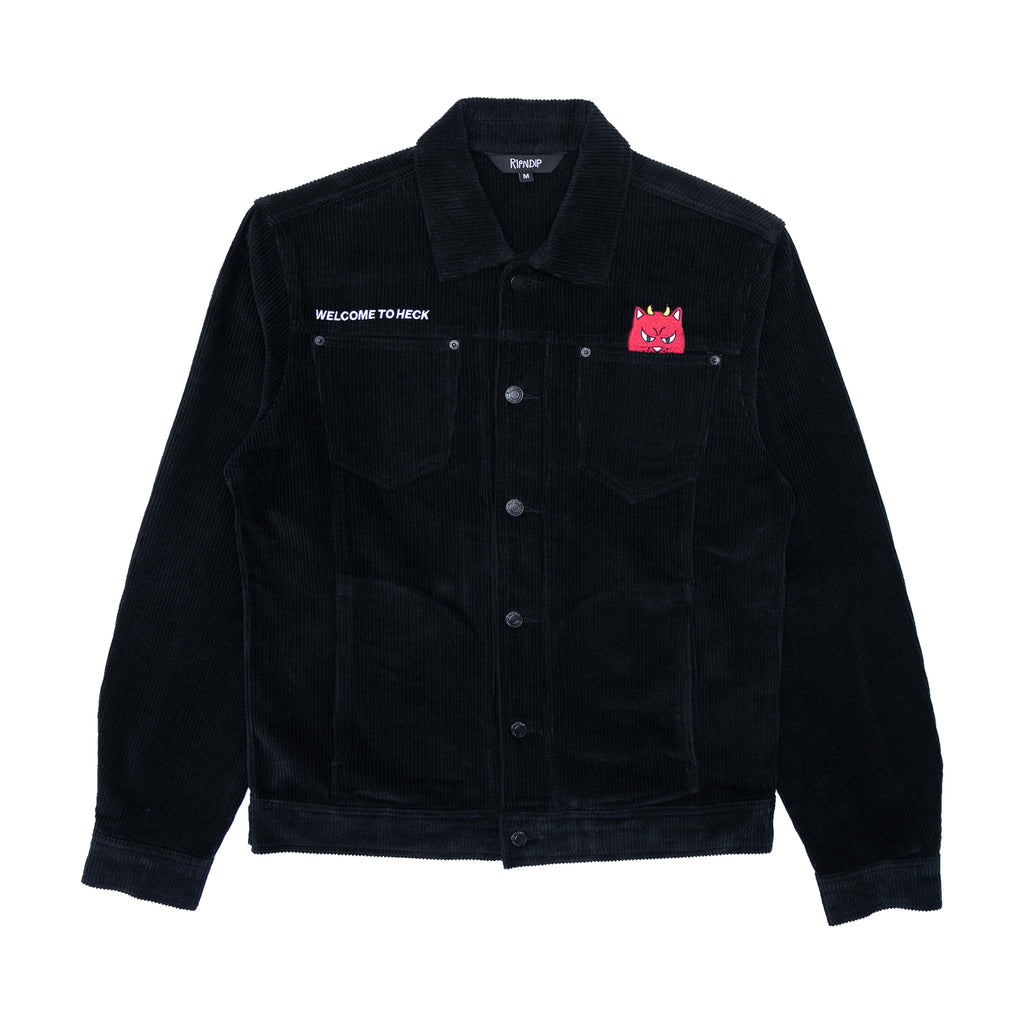 Welcome to Heck Corduroy Jacket (Black)
