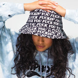 Fuck You Bucket Hat (Black)
