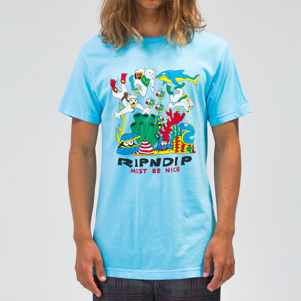 Under The Sea Tee (Baby Blue)