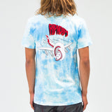 Flying High Tee (Blue Tie Dye)