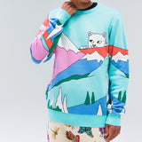 Kiss The Sky Sweater (Mint)