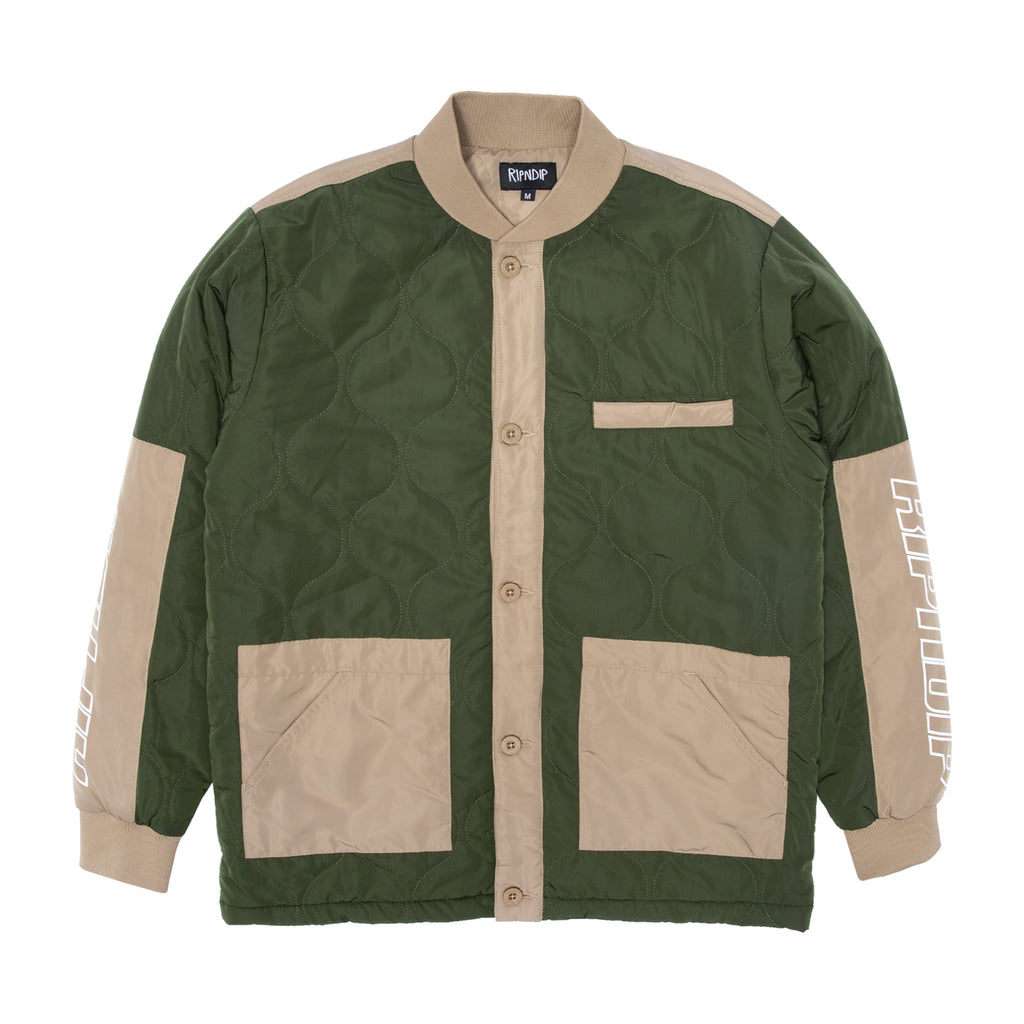 Kyoto Military Jacket (Olive / Tan)