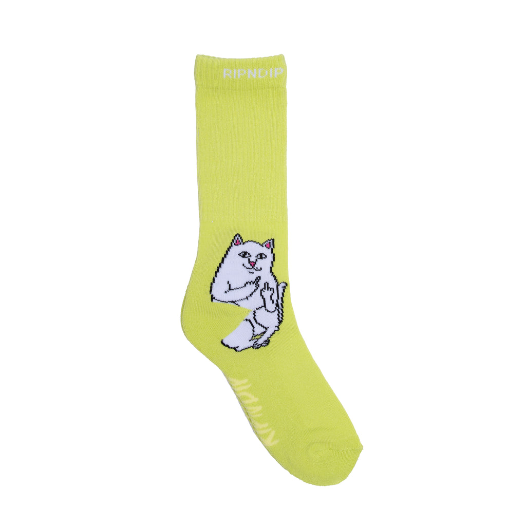 Lord Nermal Socks (Safety Green)