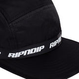 Taped Nylon Camper (Black)