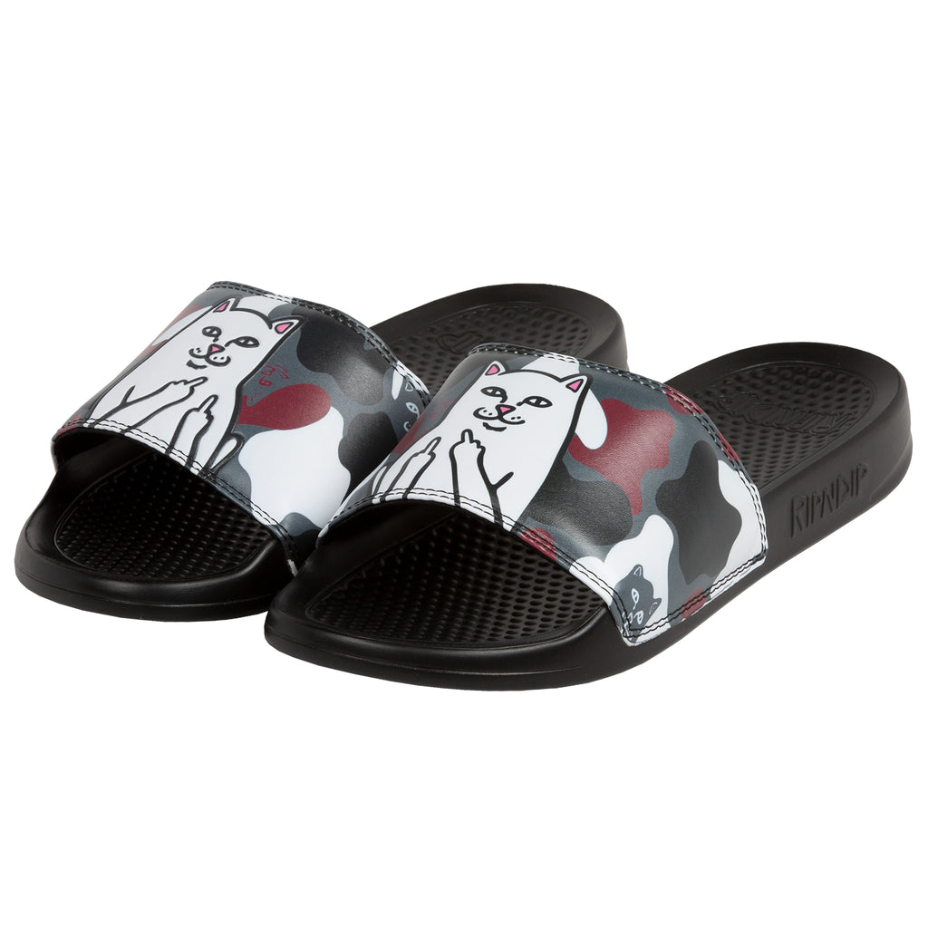 Lord Nermal Slides (Red Camo)