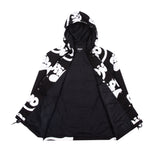 RIPNTAIL Hooded Coaches Jacket (Black)