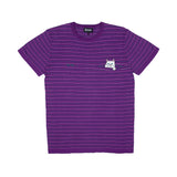 Peek A Nermal Knit Tee (Purple / Pink / Green)