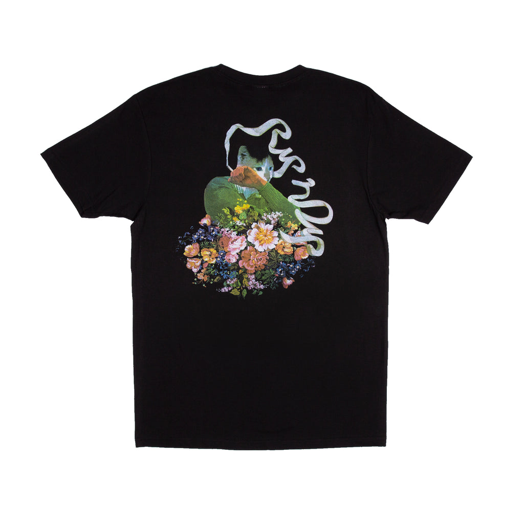 Flower Burst Tee (Black)