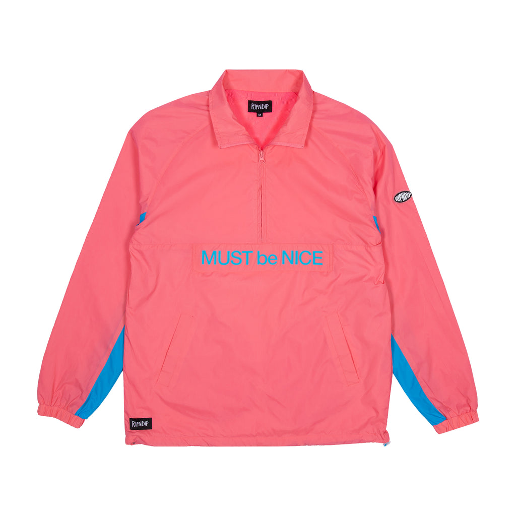 Run It Nylon Track Jacket (Watermelon)