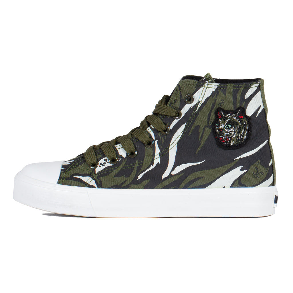 Tiger Nerm High-Top Shoes (Tiger Camo)