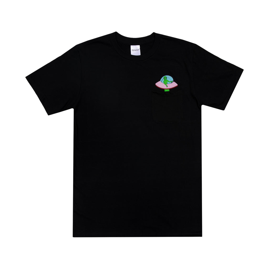 Abduction Pocket Tee (Black)