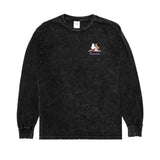 Suns Out Buns Out L/S (Black Mineral Wash)