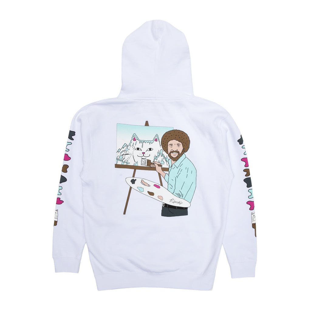 Beautiful Mountain Hoodie (White)